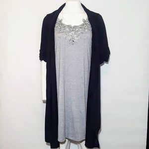 Delirious Dresses - Dress with Cardigan Attatched